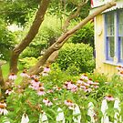 Ford Cottage Summer Garden by Marilyn Cornwell