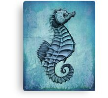 Seahorse II ~ Ink and Watercolor Canvas Print