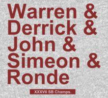 Super Bowl XXXVII Team by BeinkVin