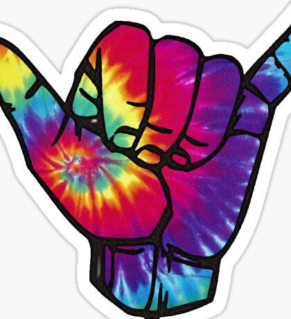 Hang Ten Hand Sticker