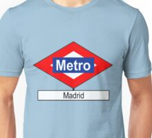 Placa Metro Madrid Unisex T-Shirt