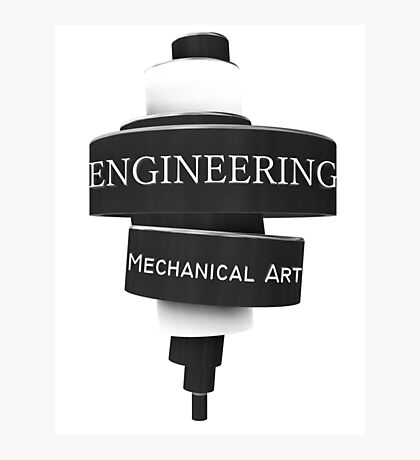 Engineering mechanical Photographic Print