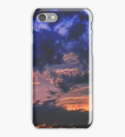 Moody Clouds Overhead iPhone Case/Skin