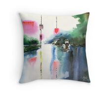 Rainy Day New Throw Pillow