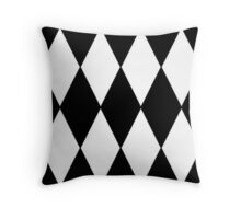 2017 COLLECTION| BLACK AND WHITE |  HARLEQUIN Throw Pillow