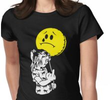 Pissed Girl Womens Fitted T-Shirt
