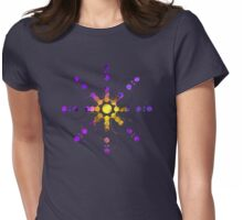 Cropcircle Design Womens Fitted T-Shirt