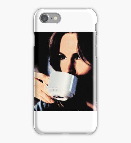 Stana Katic Coffee iPhone Case/Skin