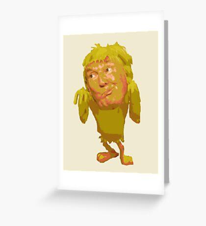 Donald Trump Twitter Parody Greeting Card