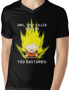 OMG They Killed Krillin Mens V-Neck T-Shirt