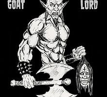 Goat Lord Defy by Alaric  Barca