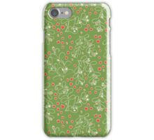 Merry Mistletoe iPhone Case/Skin