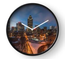 Montreal By Night Clock