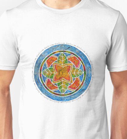Om Shanti - Peace Zen Mandala Unisex T-Shirt