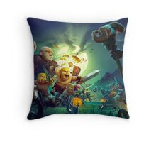 Clash of Clans Throw Pillow