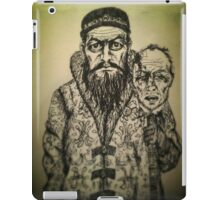 Ivan the Terrible ink drawing iPad Case/Skin