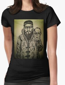 Ivan the Terrible ink drawing Womens Fitted T-Shirt