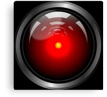 Hal 9000 (updated) Canvas Print