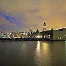 NY Waterway Ferry slips Hoboken NJ by pmarella