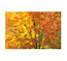 Autumnal Impression Art Print