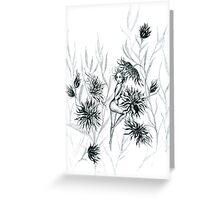 Wildflower Fae Greeting Card