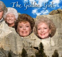 Mt. Golden Girls Sticker