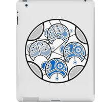Blue Timey Wimey Spacey Wacey iPad Case/Skin