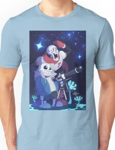 Sans and Papyrus - Get Dunked On! Unisex T-Shirt