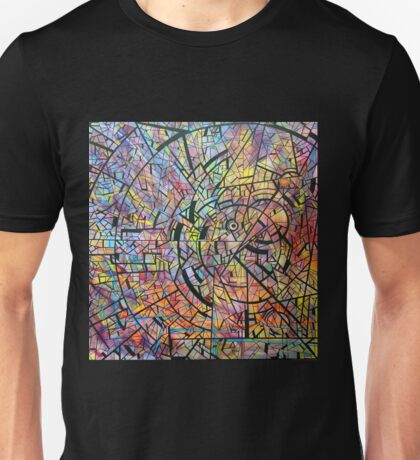 color abstraction one Unisex T-Shirt