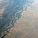 Helmand River Afghanistan by stuwdamdorp