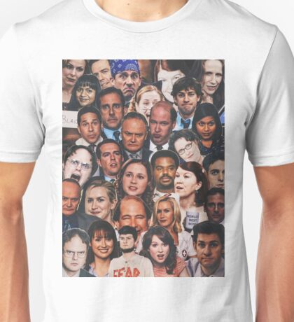 The Office Collage  Unisex T-Shirt