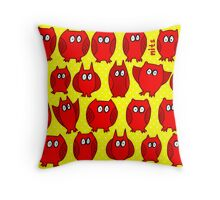 Nits for Kids - Lots of Owls Cushion Throw Pillow