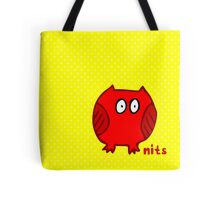 Nits for Kids - One Happy Owl To Carry Everything Tote Bag