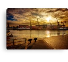 Bristol Dockside Canvas Print