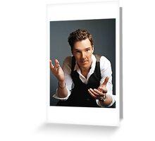 Benedict Cumberbatch 3 Greeting Card