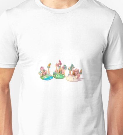 Crystal mini worlds Unisex T-Shirt