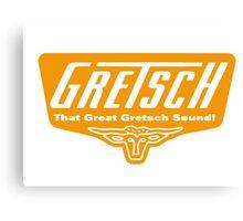 Gretsch Canvas Print