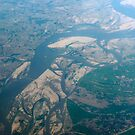 Aerial Indus Valley Pakistan by stuwdamdorp