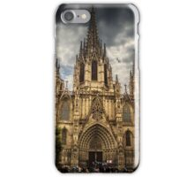 Barcelona Cathedral. iPhone Case/Skin