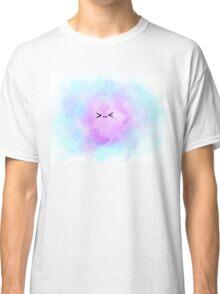 Galaxy Cat Kawaii Face Classic T-Shirt