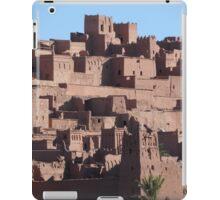 Morocco, a very old Sahara Desert Village Scene iPad Case/Skin
