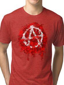BLOODY ANARCHY Tri-blend T-Shirt