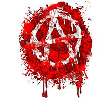 BLOODY ANARCHY Photographic Print