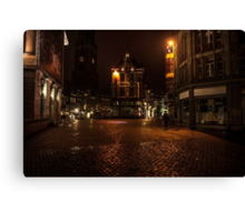 Lights of Night Utrecht. Netherlands Canvas Print