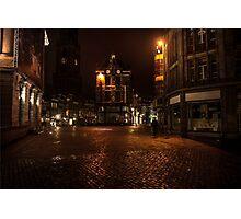 Lights of Night Utrecht. Netherlands Photographic Print