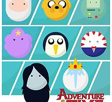 Adventure Time by Ghipo