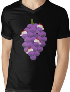 Merry Christmas Member Berries Mens V-Neck T-Shirt