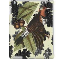 Woodpecker and Oak iPad Case/Skin