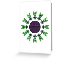 Alien Collective Greeting Card