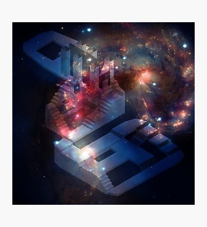 Isometric Hunter's Dream Galaxy Photographic Print